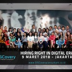 Hiring Right in Digital Era – Jakarta, March 9th, 2018