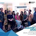 Foto Bersama Certified Master DISC Analyst - Jakarta, 23 - 25 Agustus 2019