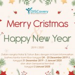 Merry Christmas 2019 & Happy New Year 2020 - Pengumuman Libur Kantor DISCovery Consultant
